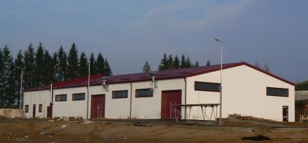 строительство производственного здания