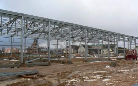 Cтроительство придорожного сервиса в д. Новоселье