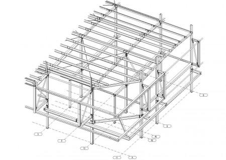 проектирование разделов КМ и КМД торгового центра